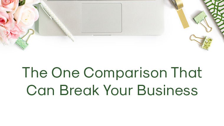 The One Comparison That Can Break Your Business