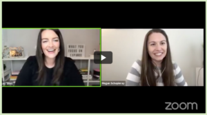 The strategies and tools we use to connect and convert with more ease with my COO Megan Schopieray